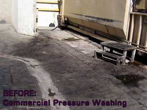 Pressure Washing Commercial