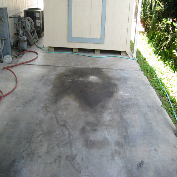 Driveway Cleaning Oil Removal
