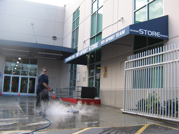 Concrete Cleaning Pressure Washing Surface Cleaning