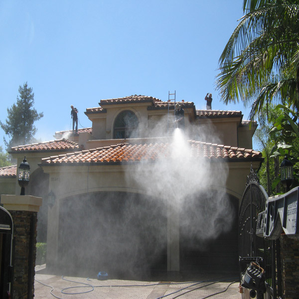 House Wash-House Pressure Washing