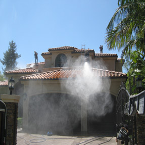 Pressure Washing House Wash