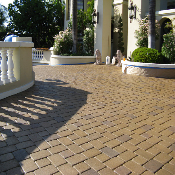 Paver Cleaning & Resealing Joints